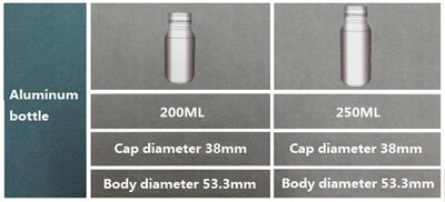 Printed Aluminum Beverage Bottles , Aluminum Soda Bottles 8oz 12oz 250ml 330ml