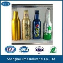 China Empty Wine Glass Beer Bottles Screw Cap Silk Screen Hot Stamping Beverage supplier