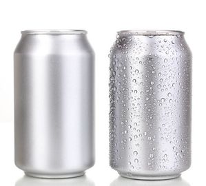 China Empty Blank Aluminum Cans Mini 250ml Blank Soda Cans Pressure Resistance EU Standard factory