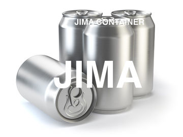Standard 330ml Custom Printed Aluminum Cans Bpa Free Beer Cans 0.25 - 0.27mm Thickness