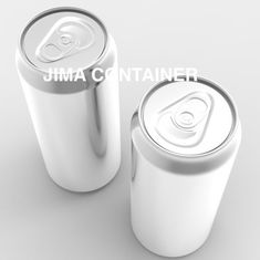 China Custom Printing Blank Aluminum Cans Empty Aluminum Cans Round Shape Food Grade factory