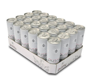 China Offset Printing Aluminum Beverage Cans Energy Drink 0.21 - 0.25mm Wall Thickness factory