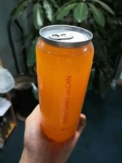 Transparent Beverage Solutions Plastic Easy Open Can For Food High Temperature Resistance