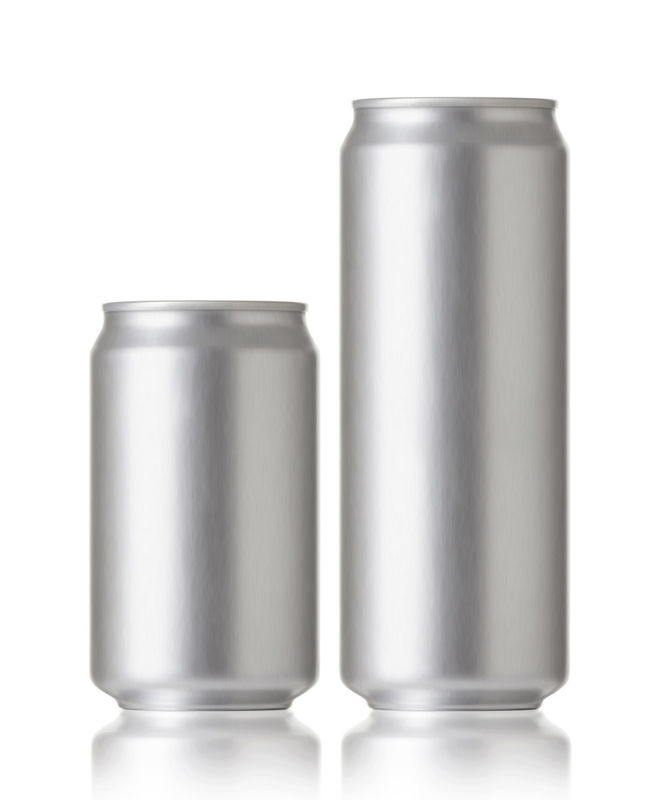 Soft Drinks Aluminum Beverage Cans 500ml Low Melting Point Easy Open End supplier
