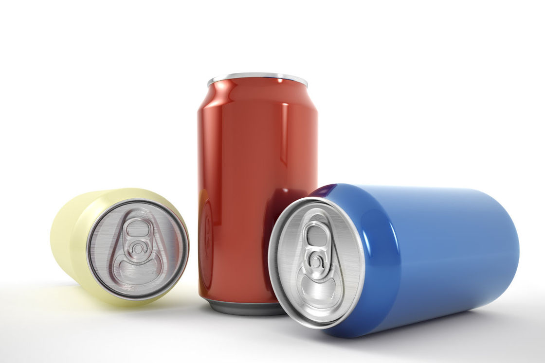330ml Standard Empty Aluminium Cans , Large Beer Can Long Storage Life Thin Foil supplier