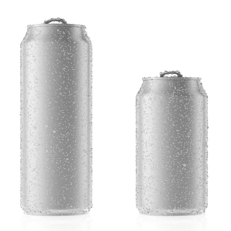 350/355ml Aluminum Beverage Cans ECO Friendly Customized Color Custom Logo supplier