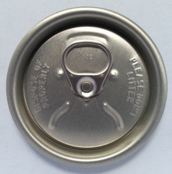 Easy Open Coca Cola Can Lid Soda Can Cap Lids 202 206 200 With QR Code Ring