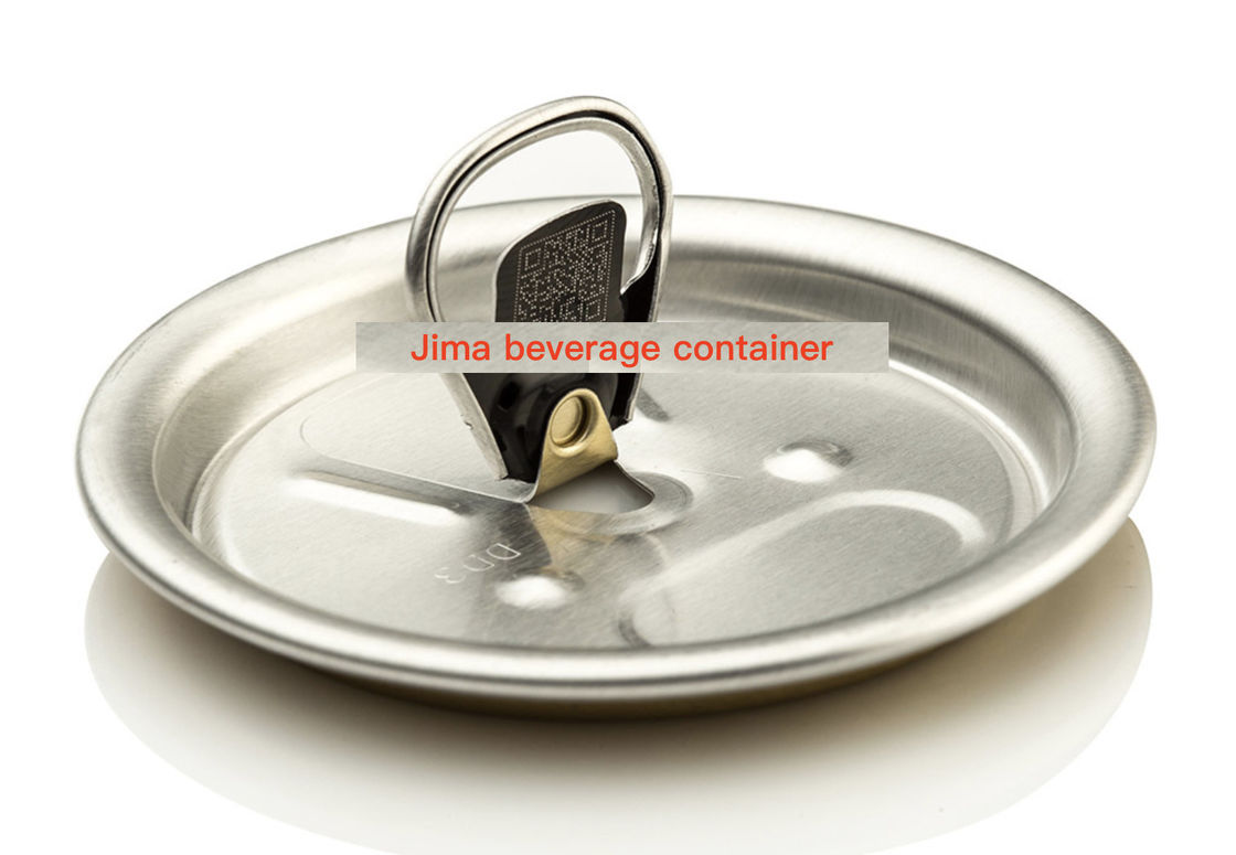 Aluminum Alloy 5182 Soft Drink Can Lids Soda Can Covers 330ml / 500ml / 550ml