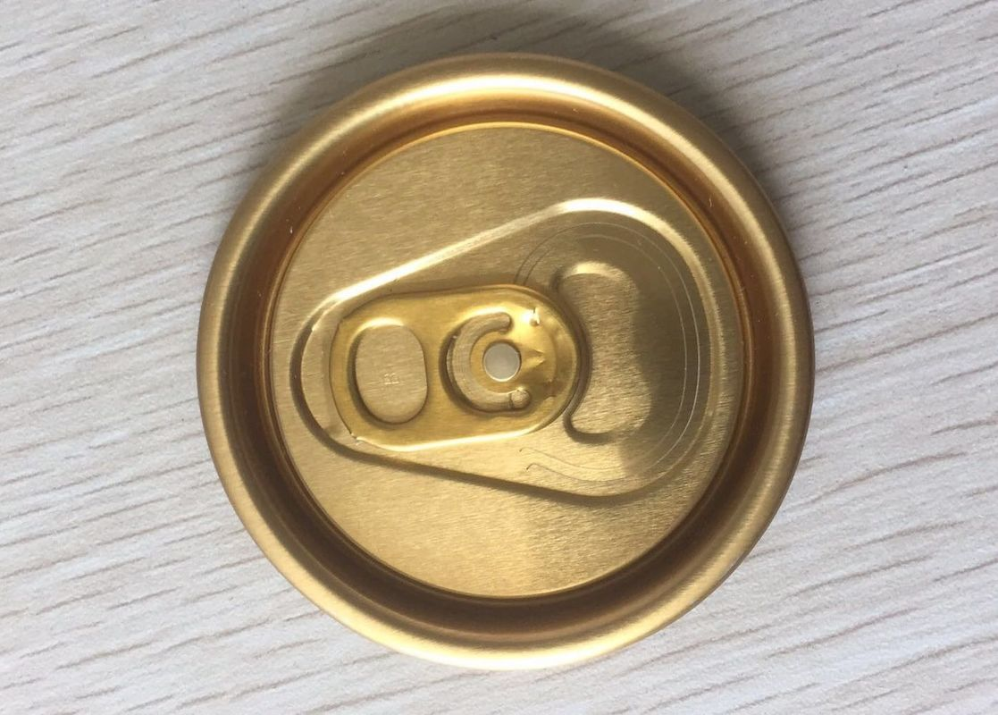 Easy Open End Aluminum Can Lids Cap 200 202 206# Aluminum Alloy 5182 Material