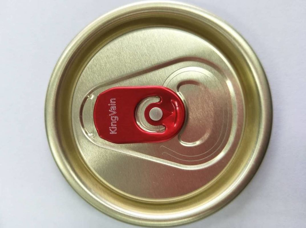 Durable Aluminum Can Lids Custom Bpa Free Beer Can End With Quick Response Code