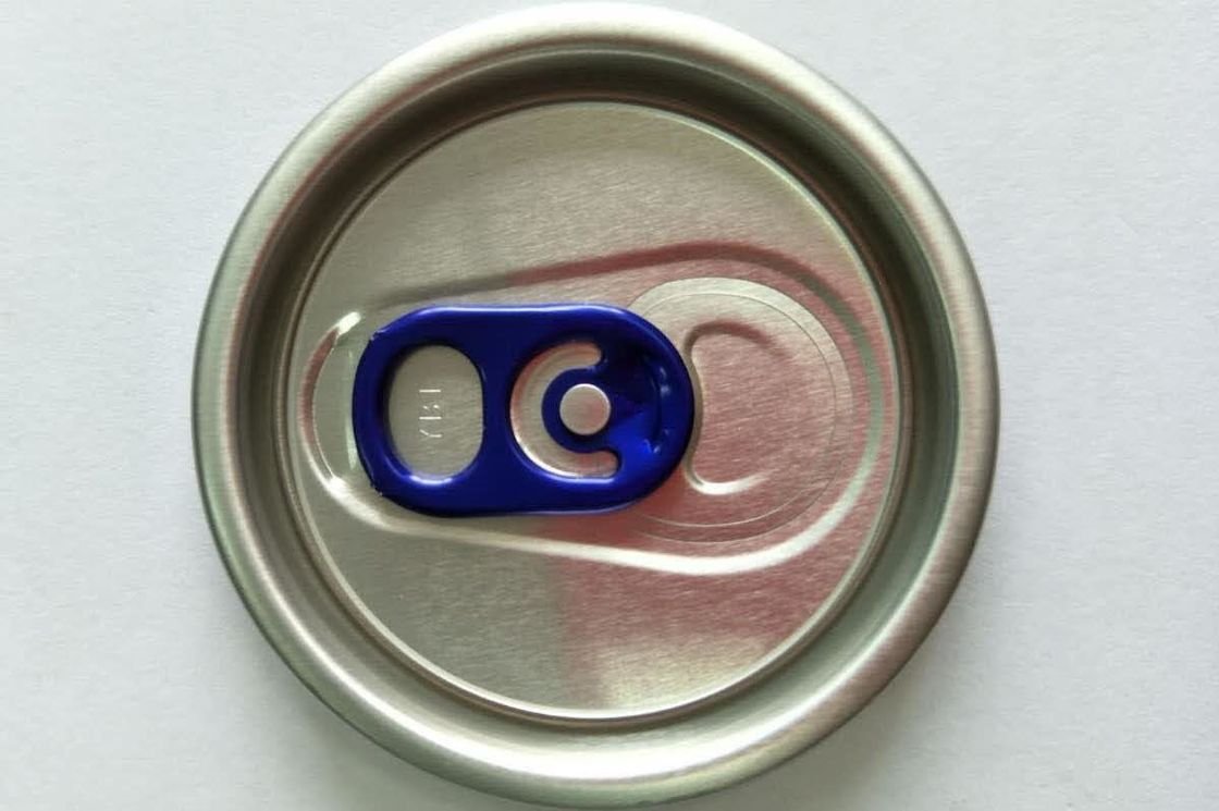 Colored Soda Pop Tops Can Lid Covers BPA Free Epoxy External Lacquer For Soft Drink