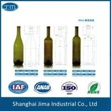 Screen Printing Glass Beer Bottles Empty 187ml Silk Screen Color Spraying