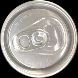 Soft Drink Plastic Coke Can Lids , Aluminum Pull Tabs 202 With Custom Ring Pull Tab